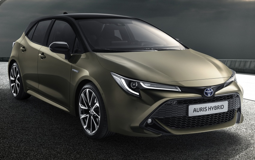 2018 Toyota Auris Officially Revealed: Will Form the Basis of the Next-Generation Corolla 13