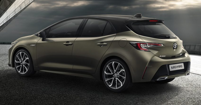 2018 Toyota Auris Officially Revealed: Will Form the Basis of the Next-Generation Corolla 4