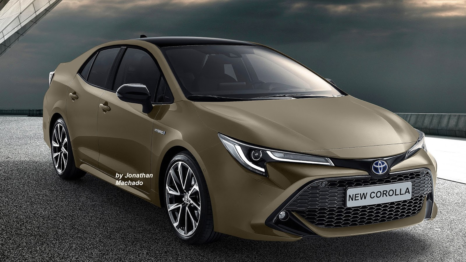 Renderings: Next Generation Toyota Corolla Imagined 3