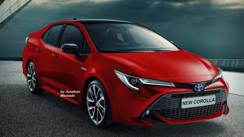 12th Generation Toyota Corolla Rendered.. 3