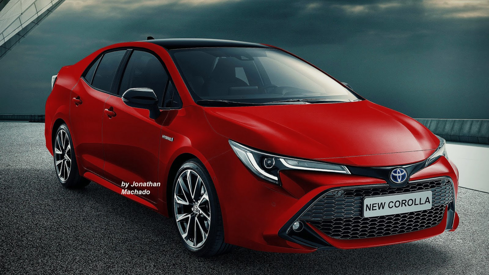 Renderings: Next Generation Toyota Corolla Imagined 17