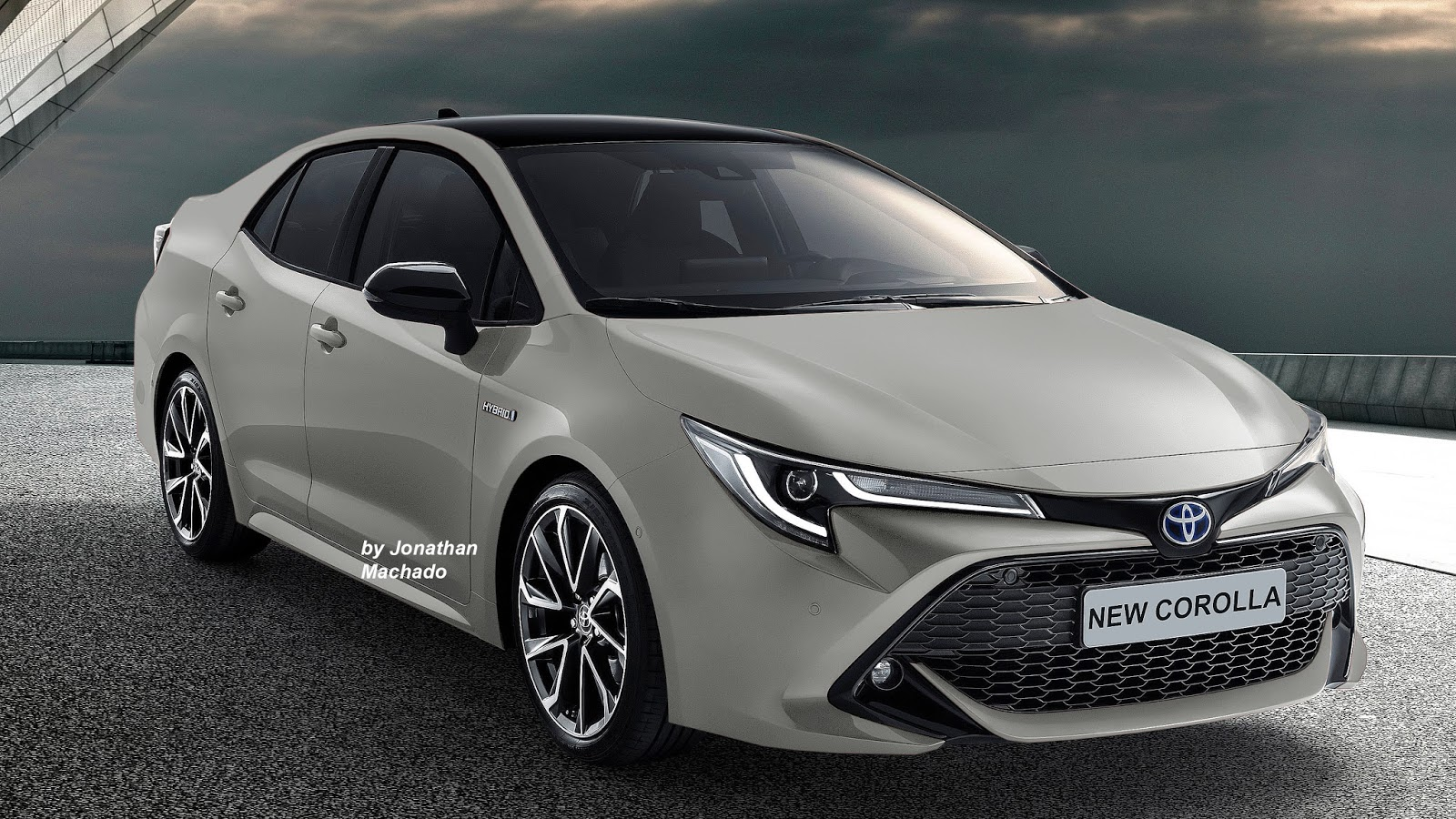 Renderings: Next Generation Toyota Corolla Imagined 1