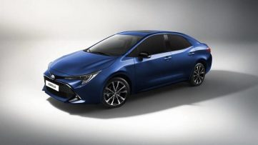 Next Gen Toyota Corolla Altis Teased Ahead of Debut 2
