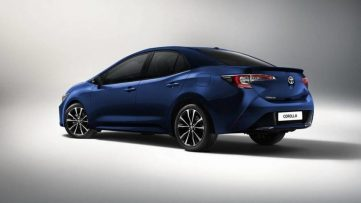 Next Gen Toyota Corolla Altis Teased Ahead of Debut 3