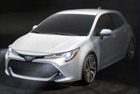 Next Gen Toyota Corolla Hatchback Revealed 7
