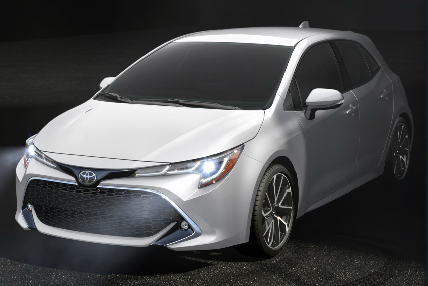 Next Gen Toyota Corolla Hatchback Revealed 2
