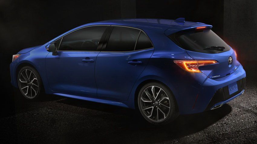 Next Gen Toyota Corolla Hatchback Revealed 3