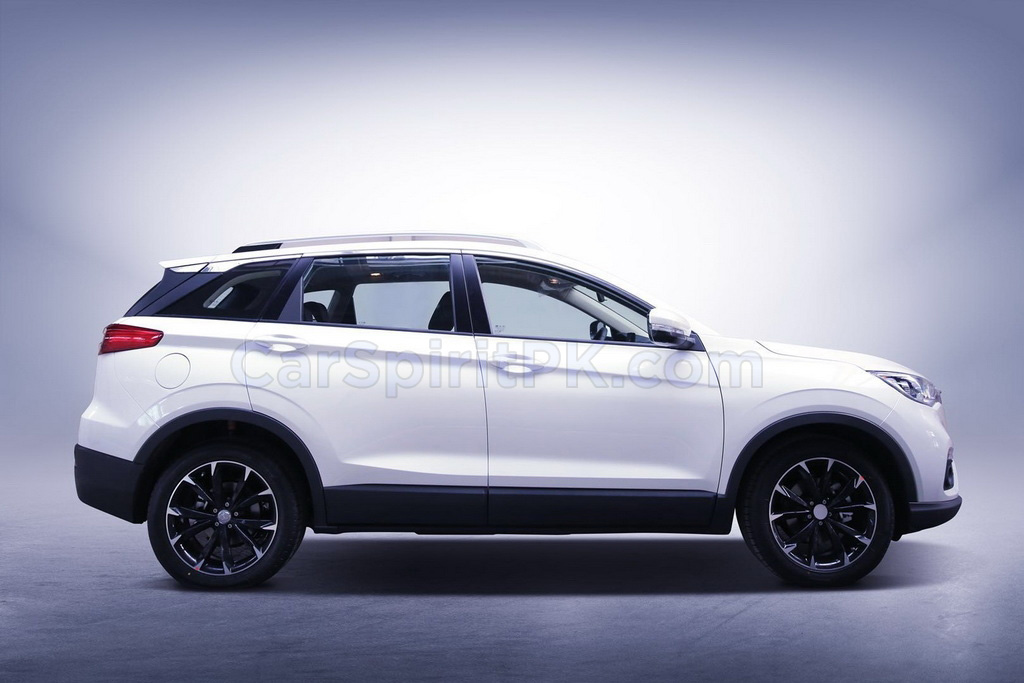 First Official Photo: FAW R9 SUV 3