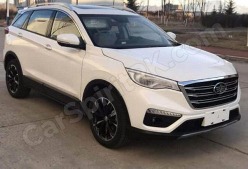 FAW R9 Undisguised- Debut Expected at 2018 Beijing Auto Show 2