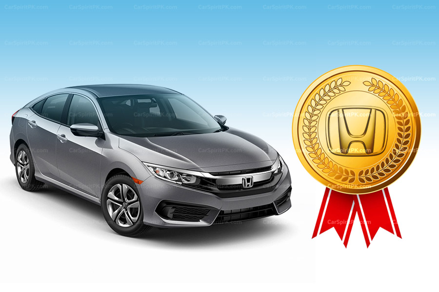Honda Atlas Wins Best Quality Award 2