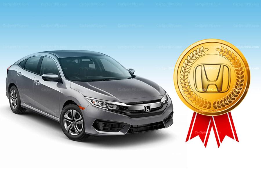 Honda Atlas Wins Best Quality Award 1