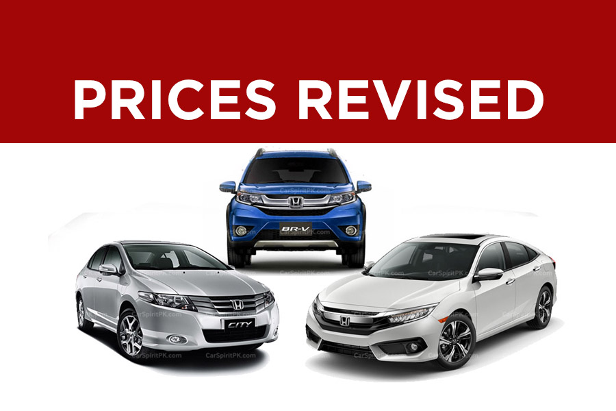 Honda Prices Revised Again 7