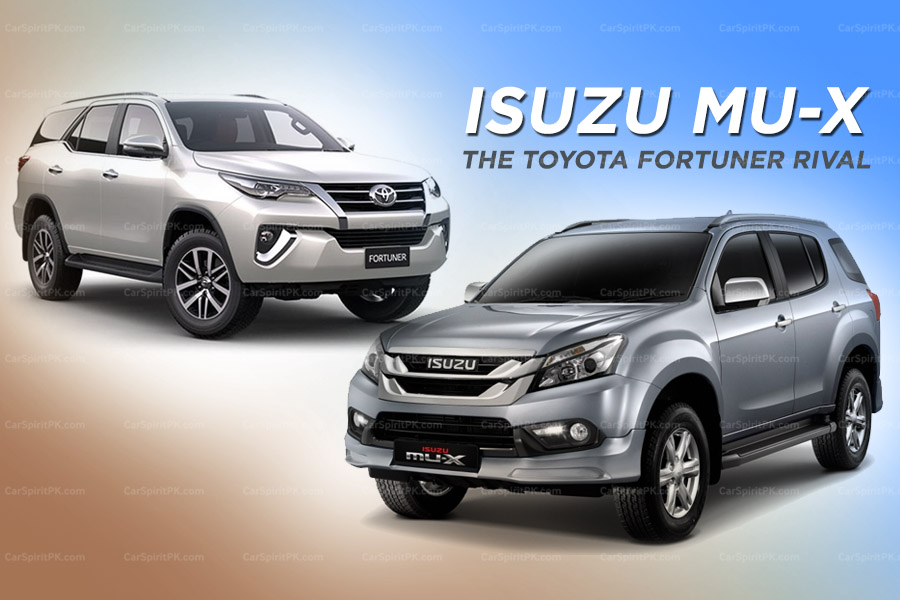 Isuzu MU-X: The Toyota Fortuner Rival 1
