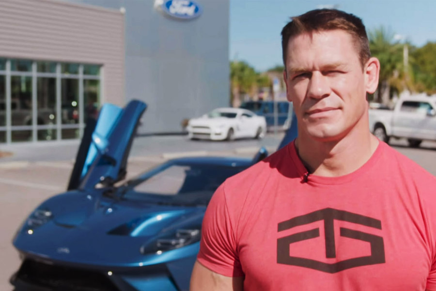 John Cena vs Ford GT Lawsuit 1