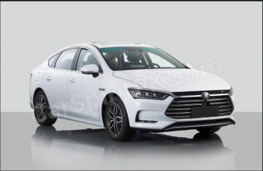 The New 2018 BYD Qin Plugin Hybrid Will Debut at Beijing Auto Show 3