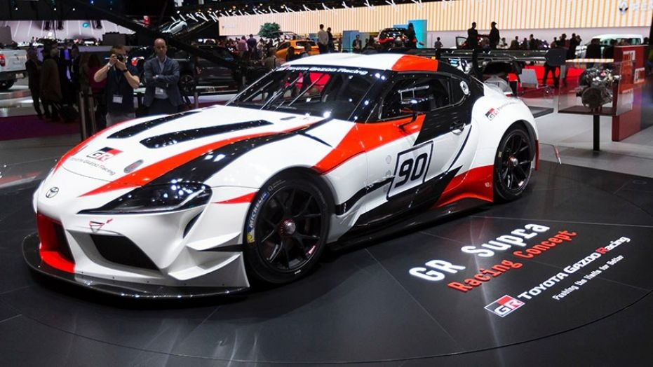 Toyota GR Supra Racing Concept at Geneva 17