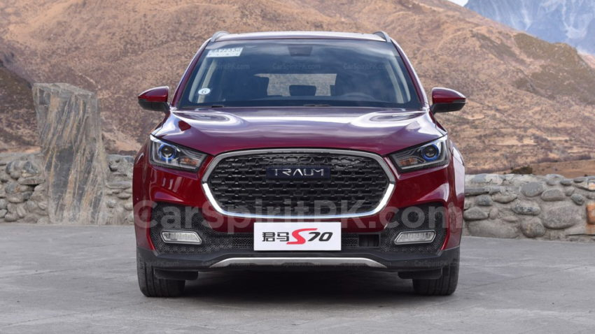 Zotye Goes Hi-Tech with Traum S70 5