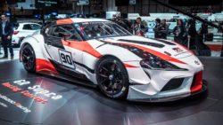 Toyota GR Supra Racing Concept at Geneva 17