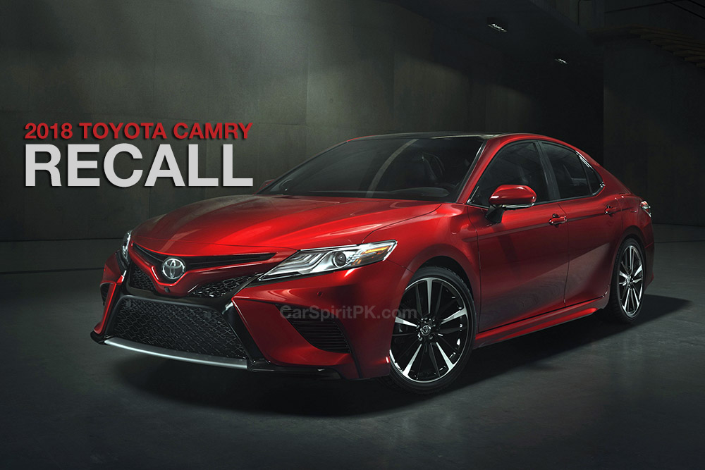 2018 Toyota Camry Recalled Because of Large Pistons 1
