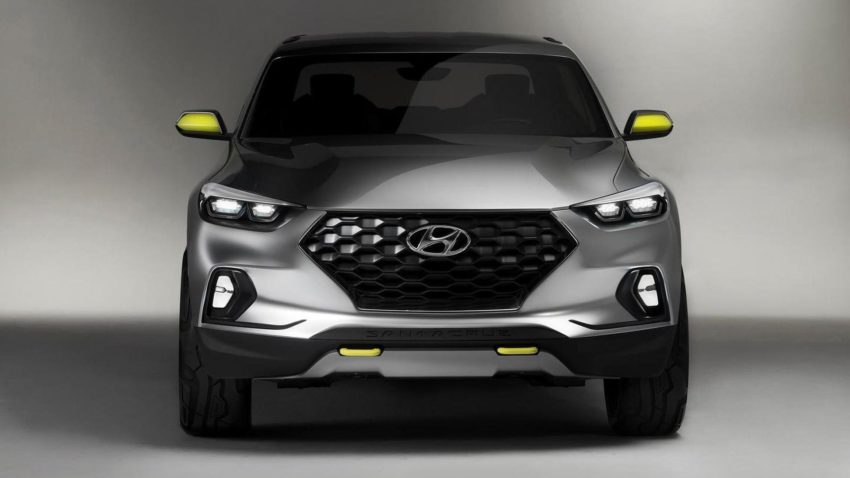 Hyundai Santa Cruz Pickup Truck to Launch in 2020 1