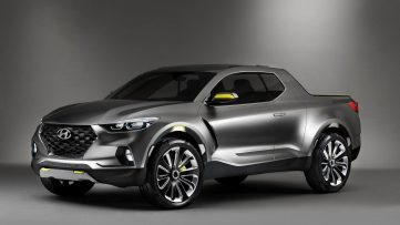 Hyundai Santa Cruz Pickup Truck to Launch in 2020 3
