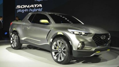 Spotted: Hyundai Readying the Santa Cruz Pickup Truck 3