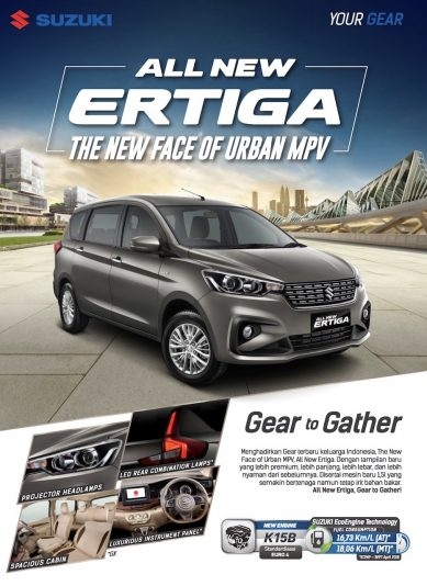 2018 Suzuki Ertiga to go on Sale in Indonesia on 12 May 3