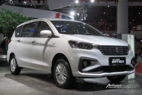 Second Generation Suzuki Ertiga Officially Revealed at IIMS 2018 2