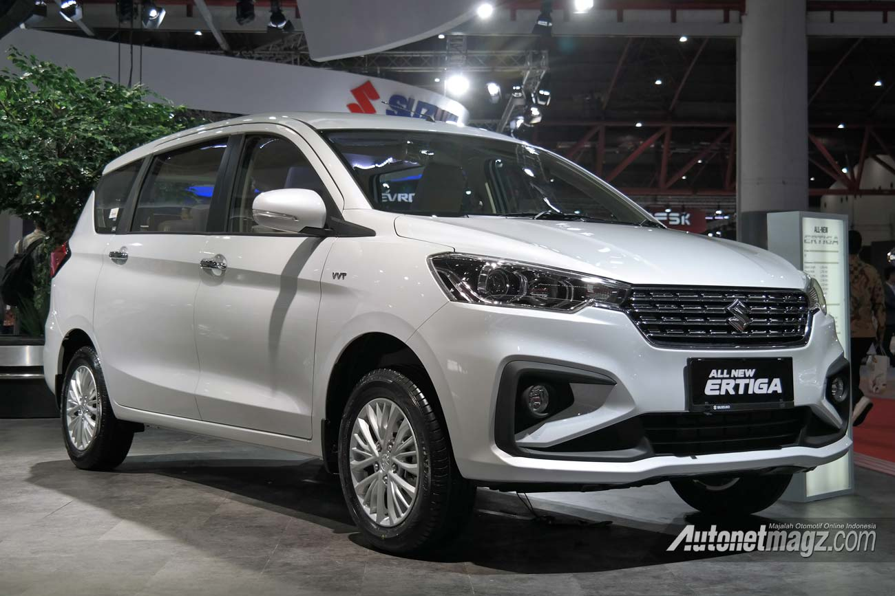 Second Generation Suzuki Ertiga Officially Revealed at IIMS 2018 55