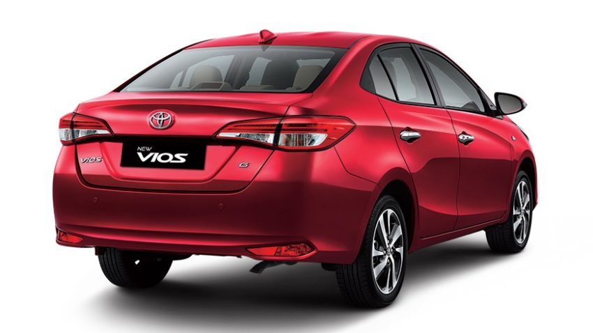 Toyota Yaris Launched in Indonesia as Vios 4