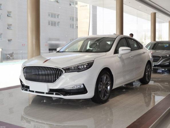 The Hongqi H5 Sedan 1