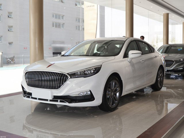 The Hongqi H5 Sedan 4