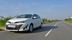 Toyota Yaris Sedan in India has a Localization Level of 87% 13