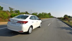 Toyota Yaris Sedan in India has a Localization Level of 87% 11