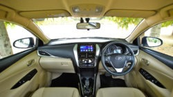 Toyota Yaris Sedan in India has a Localization Level of 87% 12