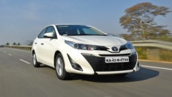 Toyota Yaris Sedan in India has a Localization Level of 87% 10