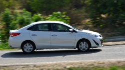 Toyota Yaris Sedan in India has a Localization Level of 87% 9