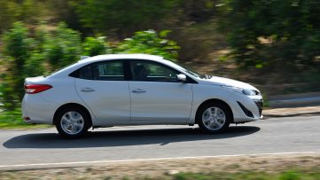 Toyota Yaris- Here vs There 25