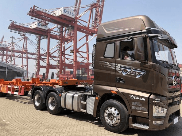 FAW Jiefang Unveiled Self-Driving Trucks in China 8