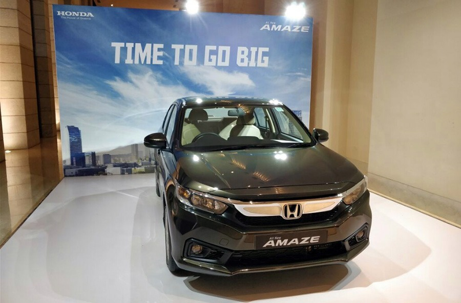 Honda Amaze All Set to Launch in India on 16th May 1