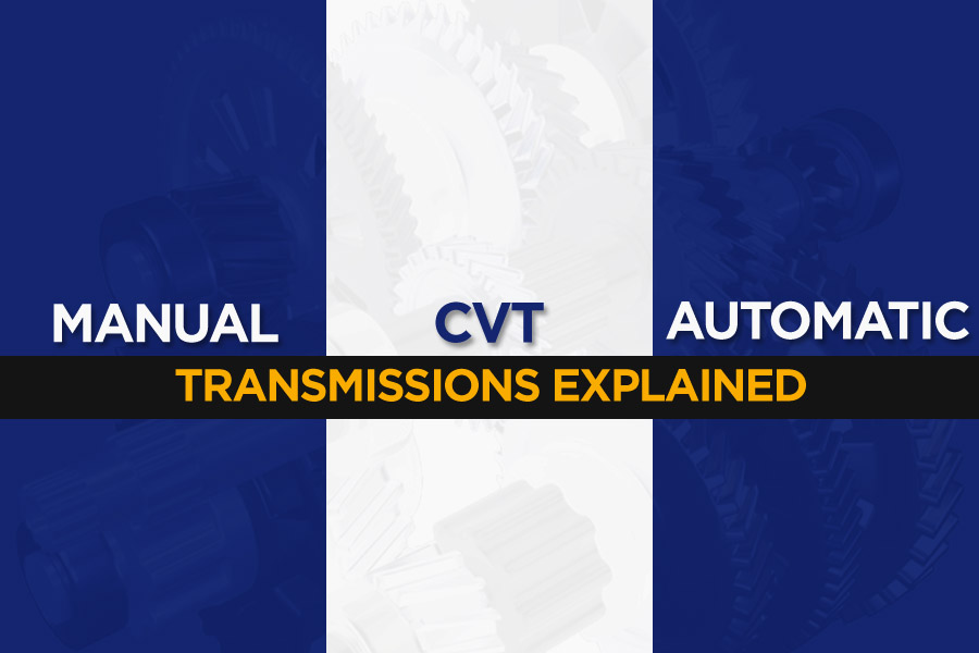 Automatic vs Manual vs CVT: Different Transmission Types Explained 1