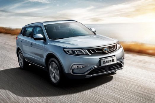 Geely Sales Exceed 1 Million Units Within 8 Months in 2018 2