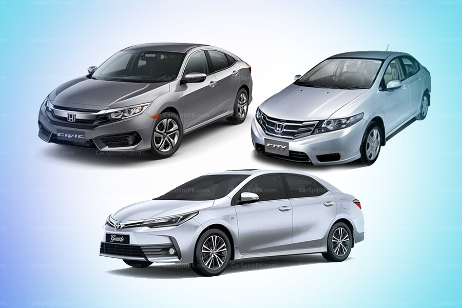 Civic and City Combined, Surpassed Monthly Sales of Corolla for the First Time 1