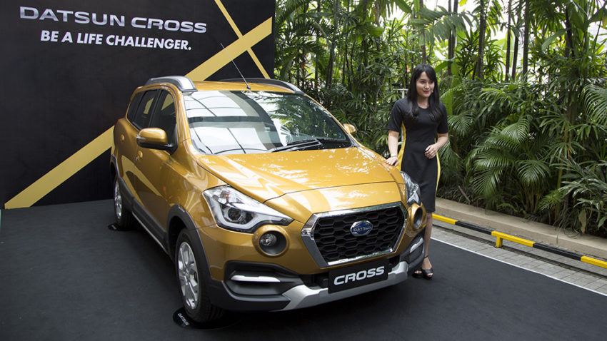 The Datsun CROSS Goes on Sale in Indonesia 1