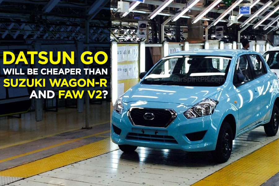 Datsun Go will be Cheaper than WagonR and V2? 7
