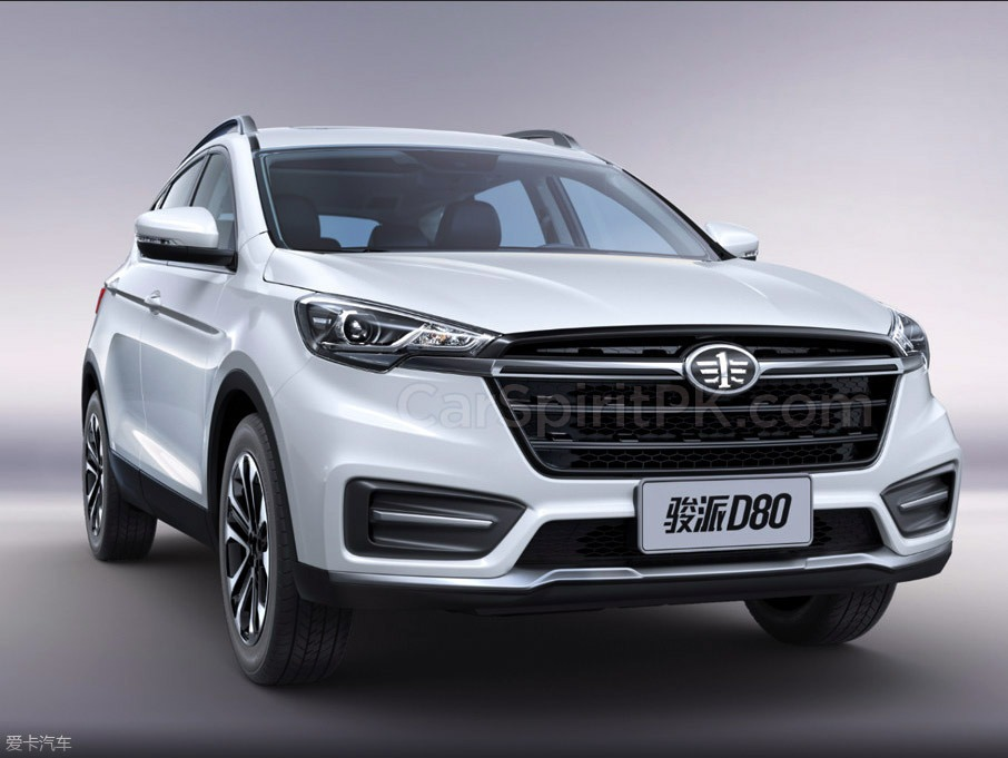FAW Moves Upmarket with the New Jumpal D80 SUV 1