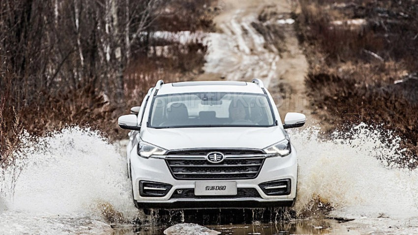 FAW Moves Upmarket with the New Jumpal D80 SUV 12