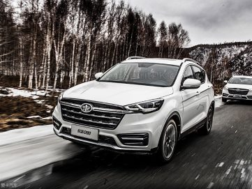 FAW Moves Upmarket with the New Jumpal D80 SUV 7