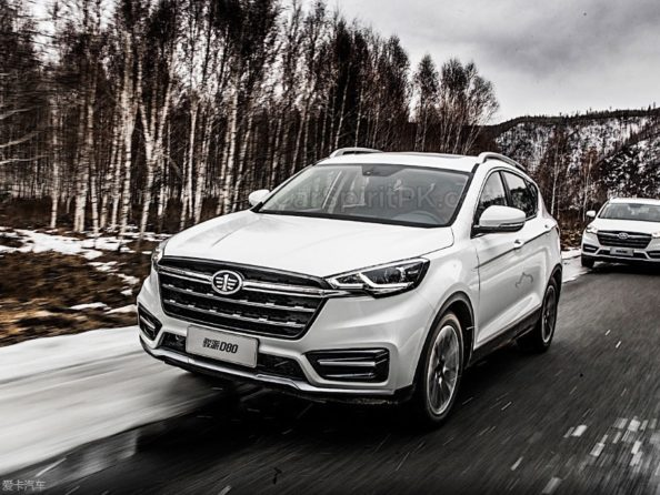 FAW Moves Upmarket with the New Jumpal D80 SUV 6