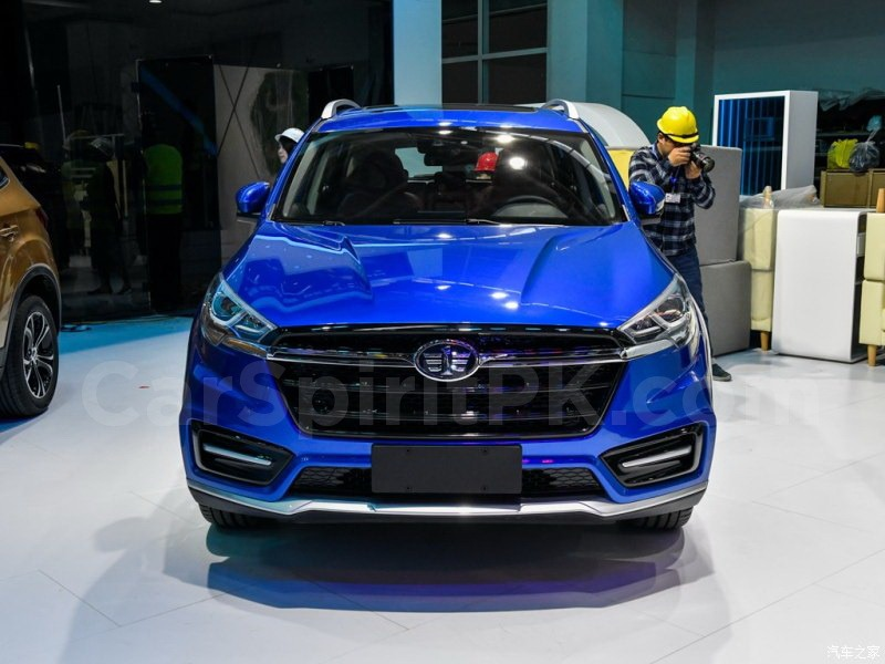 FAW D80 Debuts at 2018 Beijing Auto Show 1